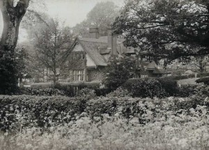 South View from the Old Vicarage. Photograph from Rev. Walton's Album