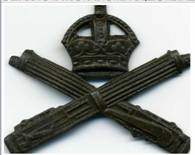 Machine Gun Corps cap badge