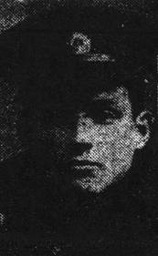 Leigh. Pte. J. Brooker, Wounded