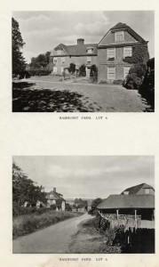 Ramshurst Farm, 1921. Lot 6 in the auction of Penshurst Place Estate