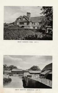 Great Barnetts Farm , 1921. Lot 8 in the auction of Penshurst Place Estate