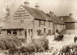 The Greyhound, Charcott. c. 1912