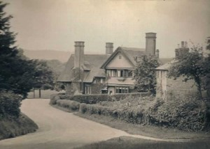 Parish Cottages ca 1900