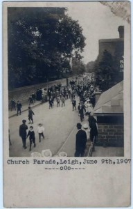 Church Parade, 9 June 1907