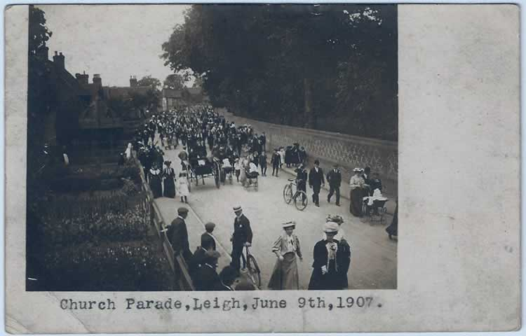 Church Parade 9 June 1907