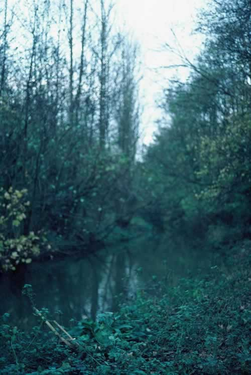 Mill stream.