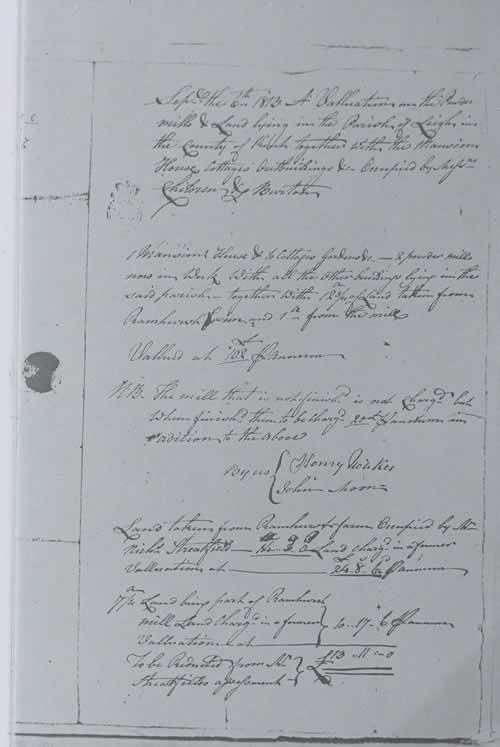 Financial Details, 1813.
