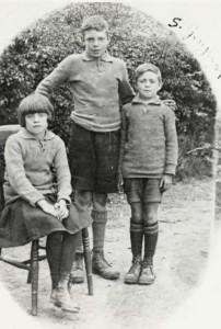 Norman, Stanley and Violet Greyland, late 1920s