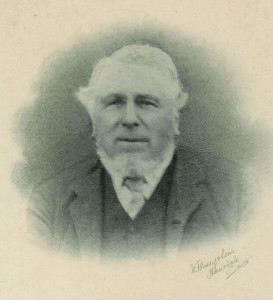 Thomas Sturgess, churchwarden 1859-1901