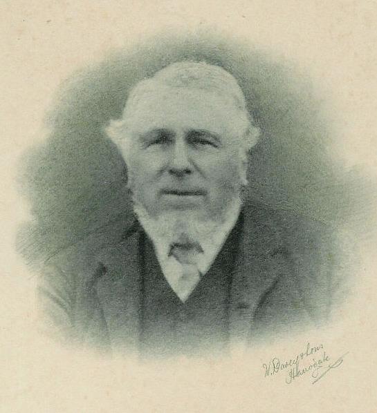 Thomas Sturgess, churchwarden 1859-1901