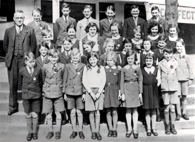 Leigh Primary Schoo, 1935/36