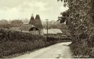 Paul's Hill and Paul's Hill Oast. Postcard, c. 1940