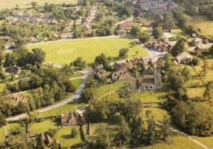 Aerial View of Leigh and Church