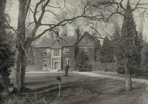 The Old Vicarage. Photograph from the album of Rev. Octavius Walton