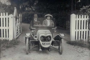 1920s Morgan. Photograph from the album of Rev. Octavius Walton
