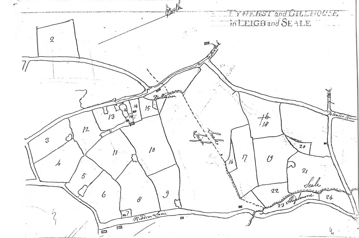 Tyhurst, now part of Great Hollanden Farm