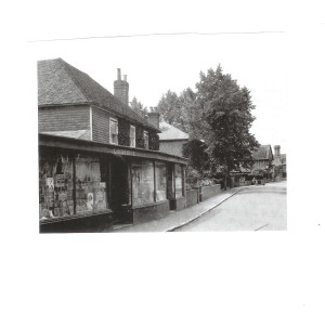 The General Store - under Mr Lindridge, early 1920s.