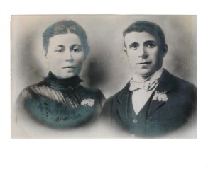 James Henry Jones and wife Polly (nee Rumley). Licensees of Fleur de Lys Hotel 1911-1921