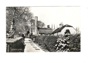 Church Lane Cottages - aka Church Hill ca 1968