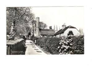 Church Lane Cottages ca 1968