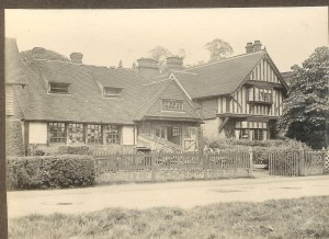 The Forge and 1 Forge Square (the police house) ca 1920?