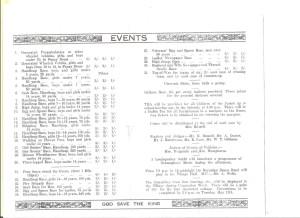 Leigh 1937 Coronation Programme - inside details