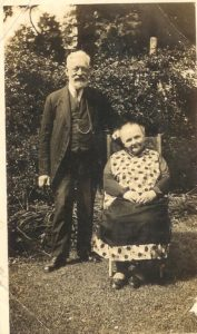 John and Sarah Hounsom who lived at Rose Cottage