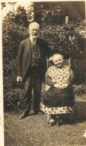 John and Sarah Hounsom who lived at Rose Cottage