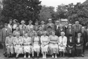 Golden Years Group - pre 1934 - sent to the Society by Jennie James, descendant of Albert Charles Humphrey